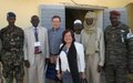 ASG for Rule of Law and Security Institutions at DPKO, Mr. Dimitry Titov, visits Chad