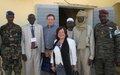 Le Secrétaire général à l'Etat de Droit, M. Dimitry Titov, en visite au Tchad