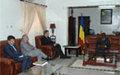 Arrivée au Tchad du Secrétaire général adjoint aux Opérations de Maintien de la Paix