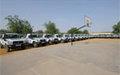 Le DIS renforcé avec 74 véhicules tout-terrain neufs