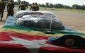 Le soldat togolais mort à Abéché rapatrié à Lomé le mardi 14 avril 2009