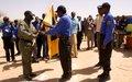 Cérémonie de fin de formation du DIS et de son déploiement à l'est du Tchad